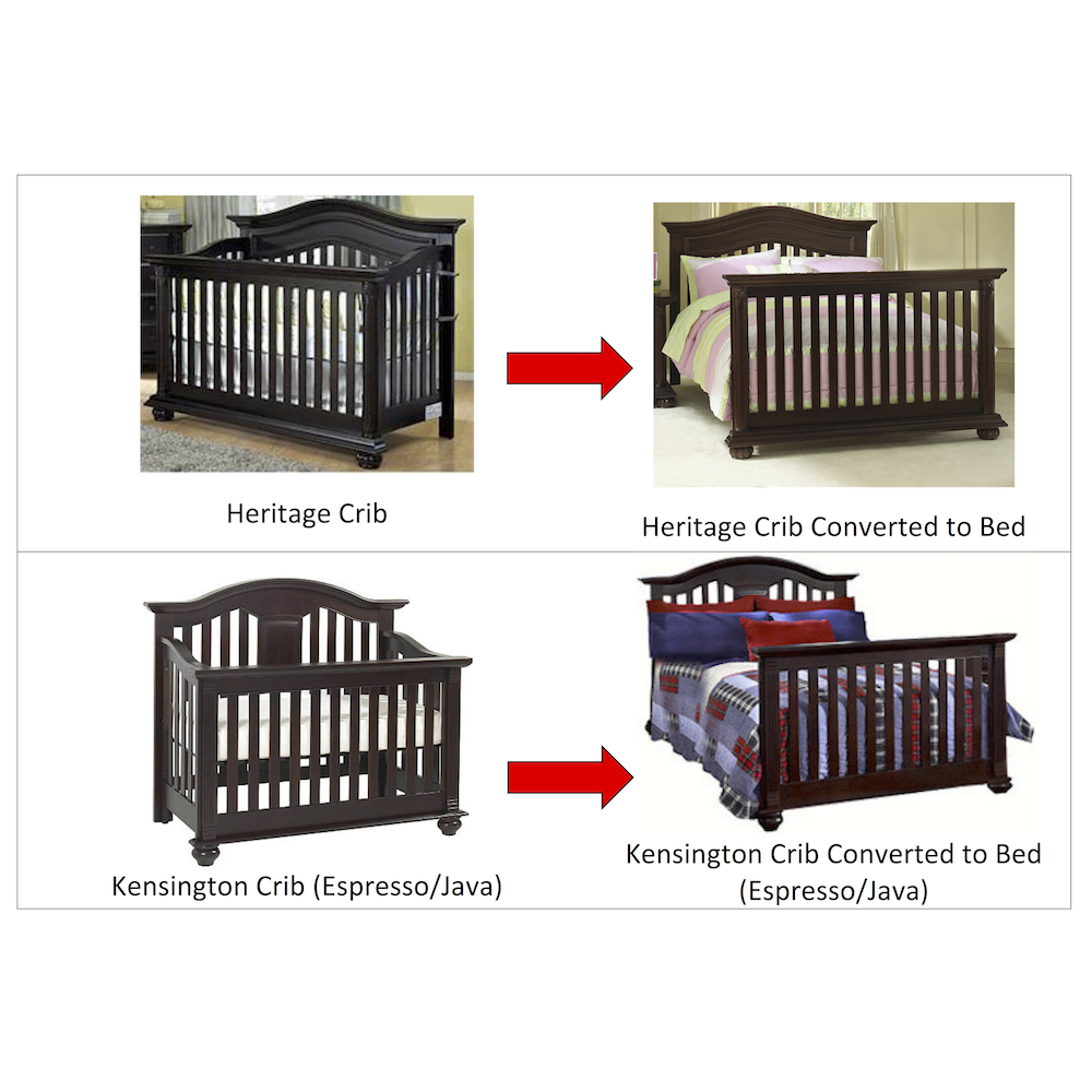 """Bought-n-thought: baby cache """"uptown"""" crib."""